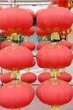 De Chinese Lantaarn van het Nieuwjaar stock foto's