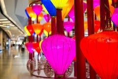 De Chinese Lantaarn van het Nieuwjaar Stock Afbeelding