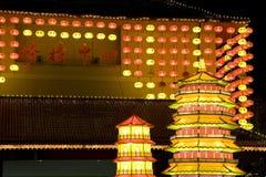 De Chinese Lantaarns van het Nieuwjaar Royalty-vrije Stock Foto's