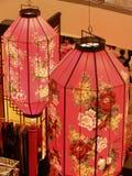 De Chinese Lantaarns van het Nieuwjaar Royalty-vrije Stock Afbeeldingen