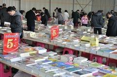 De Chinese Markt van de Tempel van het Nieuwjaar in wuhan Stock Foto's