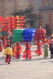 De Chinese Markt van het Nieuwjaar Stock Afbeelding