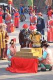 De Chinese Markt van het Nieuwjaar Royalty-vrije Stock Afbeeldingen