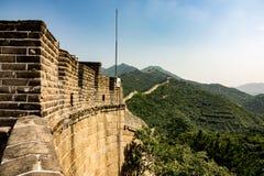 De Chinese muur Royalty-vrije Stock Fotografie