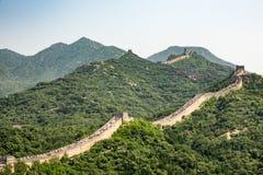 De Chinese muur Stock Fotografie
