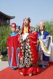 De Chinese openbare herdenkingsceremonie van het Festival Qingming Stock Foto