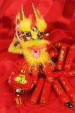 De Chinese Ornamenten van het Nieuwjaar Stock Foto