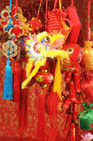 De Chinese Ornamenten van het Nieuwjaar Stock Afbeelding