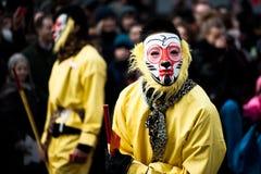 De Chinese Parade van het Nieuwjaar Royalty-vrije Stock Afbeelding