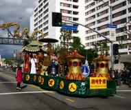 De Chinese Parade van het Nieuwjaar in Los Angeles Stock Foto's