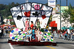 De Chinese Parade van het Nieuwjaar in Los Angeles Royalty-vrije Stock Afbeeldingen