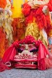 De Chinese parade van het Nieuwjaar in Milaan Royalty-vrije Stock Fotografie