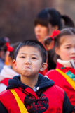 De Chinese parade van het Nieuwjaar in Milaan stock afbeeldingen
