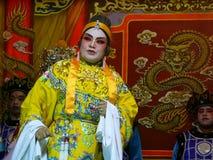 De Chinese Prestaties van de Opera Royalty-vrije Stock Afbeeldingen
