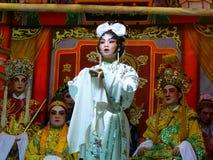 De Chinese Prestaties van de Opera Stock Foto's