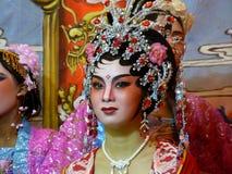 De Chinese Prestaties van de Opera Stock Afbeeldingen