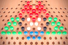 De Chinese reeks van de controleurs houten raad Stock Fotografie