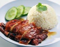 De Chinese rijst van de stijlkip met sojasaus Royalty-vrije Stock Foto
