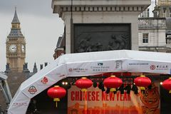 De Chinese Scène van het Nieuwjaar Stock Foto's