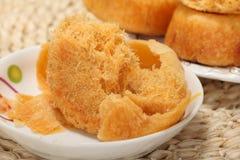 De Chinese snacks van de zijdepastei Stock Fotografie