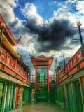 De Chinese stijl van de draakwandelgalerij Royalty-vrije Stock Afbeelding