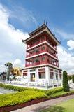De Chinese stijl van de waarnemingscentrumtoren Stock Afbeelding