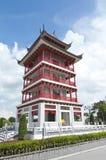 De Chinese stijl van de waarnemingscentrumtoren Royalty-vrije Stock Foto's
