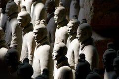 De Chinese Strijder van het Terracotta Royalty-vrije Stock Fotografie