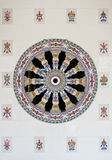 De Chinese tegels van de stijlmuur Stock Afbeeldingen