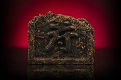 De Chinese thee van Puer Stock Afbeelding