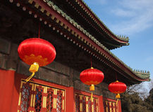 De Chinese traditionele bouw Royalty-vrije Stock Foto