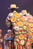 De Chinese Traditionele Nationale Prestaties van het kostuum Royalty-vrije Stock Afbeelding