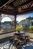 De Chinese Tuin van Dunedin in Nieuw Zeeland Stock Afbeeldingen