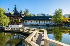 De Chinese Tuin van Dunedin in Nieuw Zeeland Royalty-vrije Stock Afbeelding