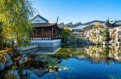 De Chinese Tuin van Dunedin in Nieuw Zeeland Stock Afbeelding