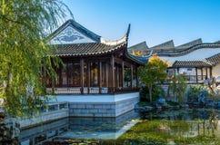 De Chinese Tuin van Dunedin in Nieuw Zeeland Stock Foto's