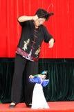 De Chinese uitvoerder van het marionettenkoord Royalty-vrije Stock Foto's