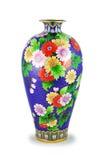 De Chinese vaas. stock afbeeldingen