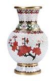 De Chinese vaas. Stock Afbeelding