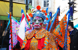 De Chinese viering 2009 van het Nieuwjaar Royalty-vrije Stock Fotografie