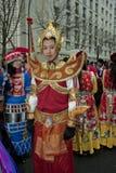 De Chinese Viering van het Nieuwjaar Stock Foto