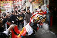 De Chinese Viering van het Nieuwjaar, 2012 Stock Foto's