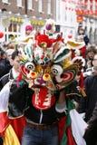 De Chinese Viering van het Nieuwjaar, 2012 Royalty-vrije Stock Afbeeldingen