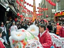 De Chinese Vieringen van het Nieuwjaar Royalty-vrije Stock Afbeeldingen