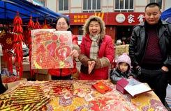 De Chinese Vieringen van het Nieuwjaar Stock Foto