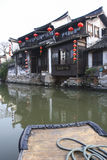 De Chinese waterstad - Xitang 4 Stock Foto