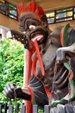 De Chinese Zwarte Boodschapper van het Spook Royalty-vrije Stock Foto