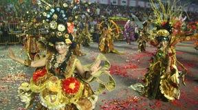 De chingay parade van Singapore Stock Foto