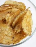 De chips van spaanders Stock Fotografie