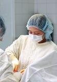 De chirurg van de dame stock afbeelding